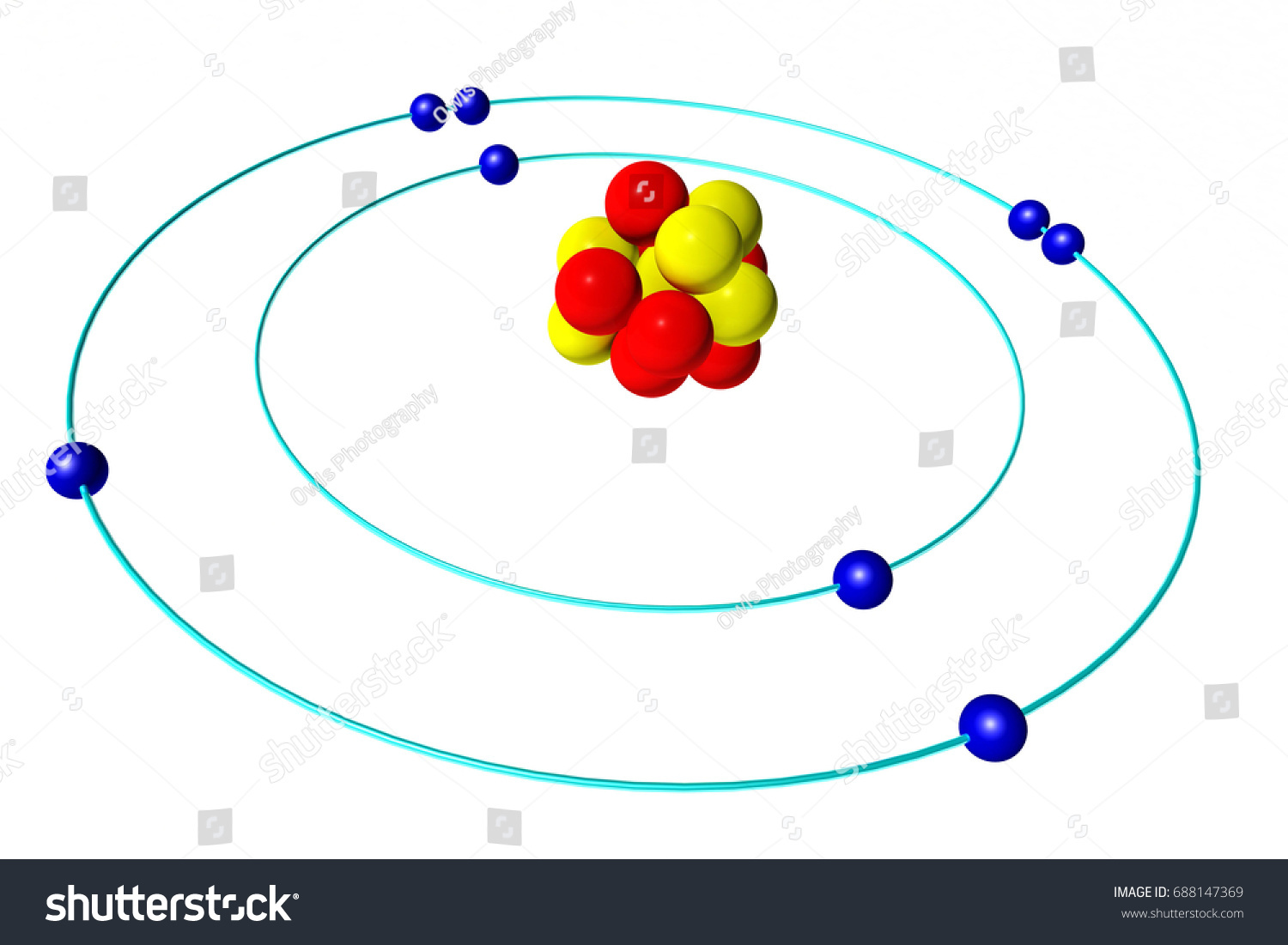 Aluminum Periodic Table Protons Neutrons And Electrons