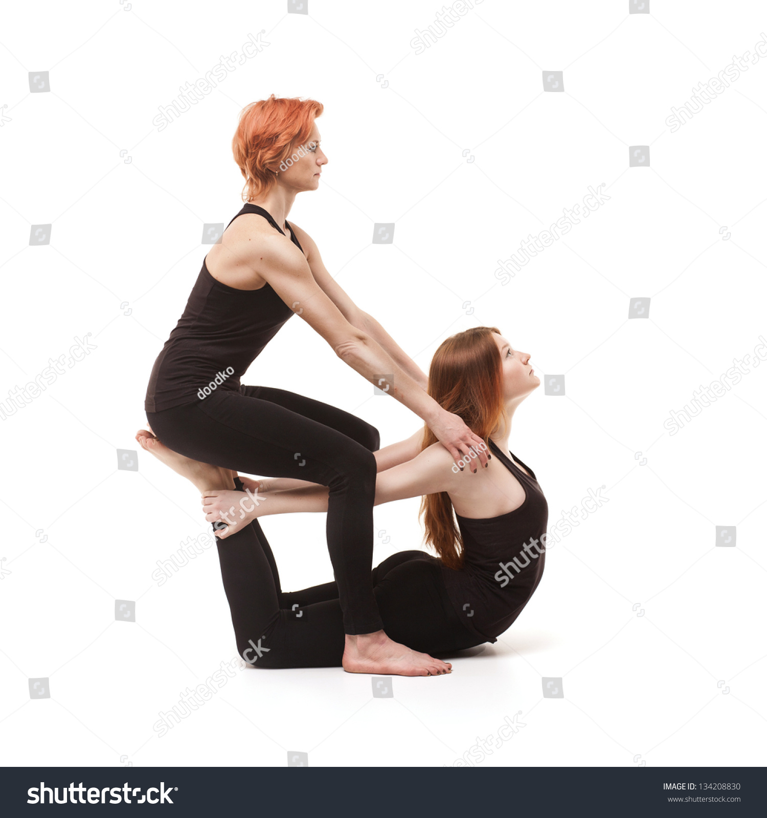 2 Person Hard Yoga Poses