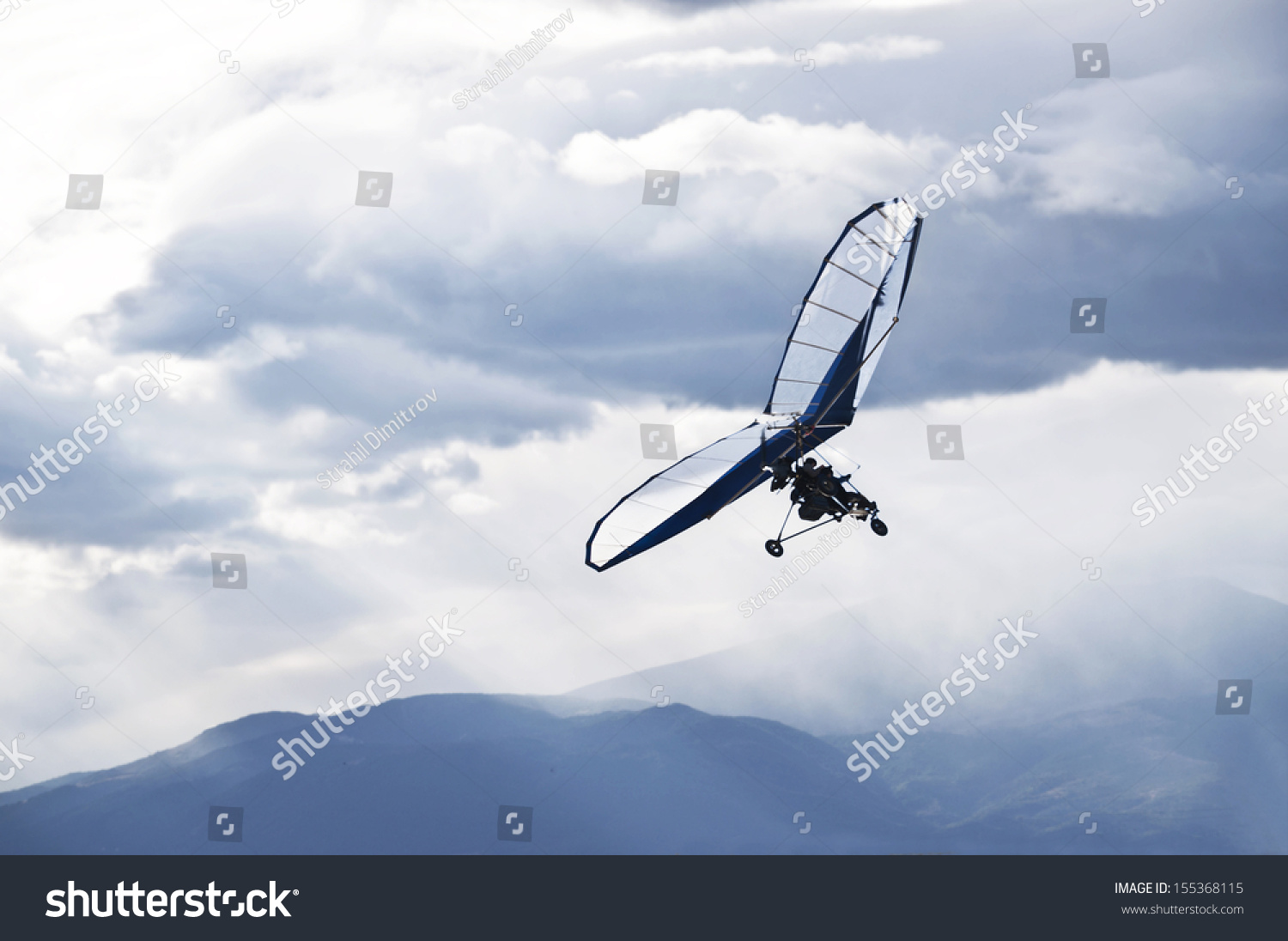 Paragliding As Extreme And Fun Sport Stock Photo 155368115 : Shutterstock