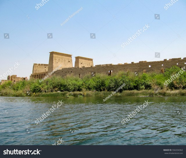 Philae An Island In The Reservoir Of The Aswan Low Dam Aswan Egypt
