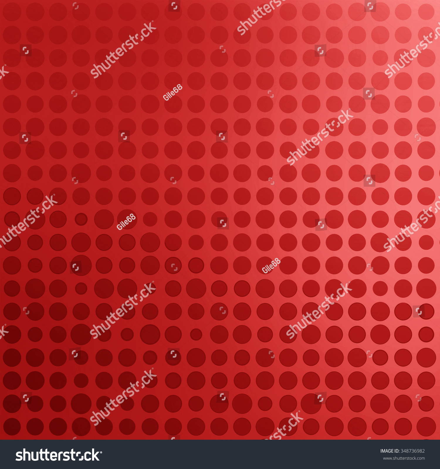 Bright Red Metallic And Blue Background