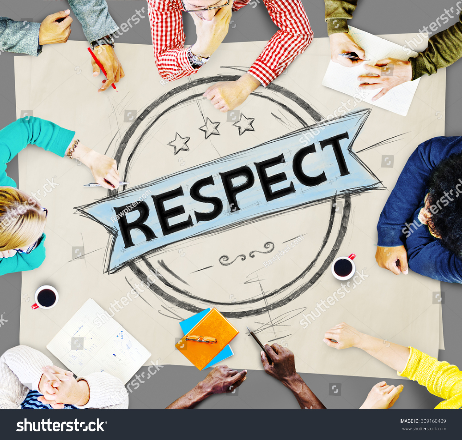 Respect Honesty Honorable Regard Integrity Concept Stock Photo 309160409 : Shutterstock