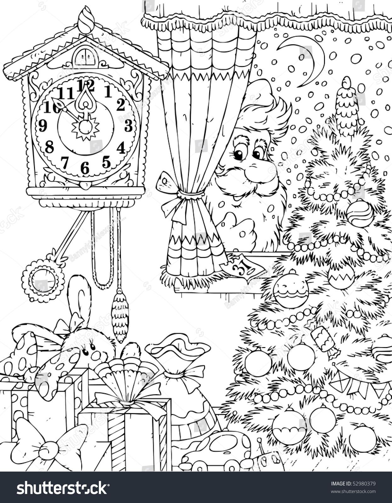 Nicholas St Page Ornament Coloring