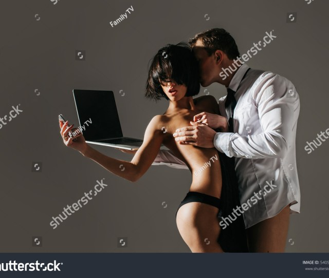 Sexy Couple Sensual Sex In Office The Concept Of Sexual Relations At Work Young Business Couple Are Having Sex In The Workplace Business Lady Is