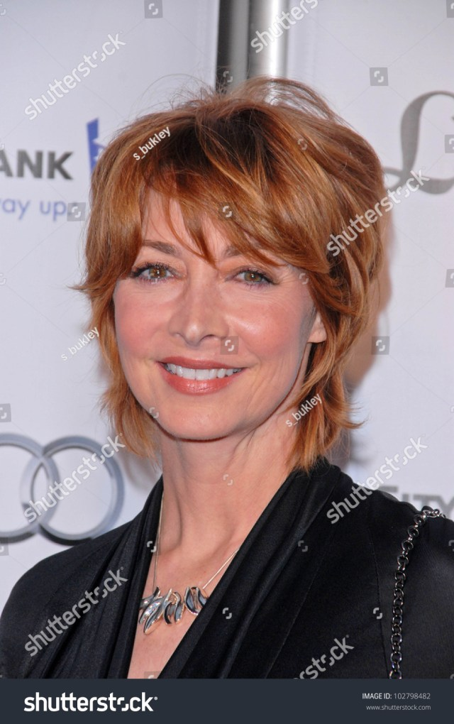 sharon lawrence geffen playhouses annual fundraiser stock