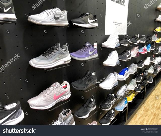 Shoe Section In Dicks Sporting Goods Jacksonville Florida Usa June 20 2018