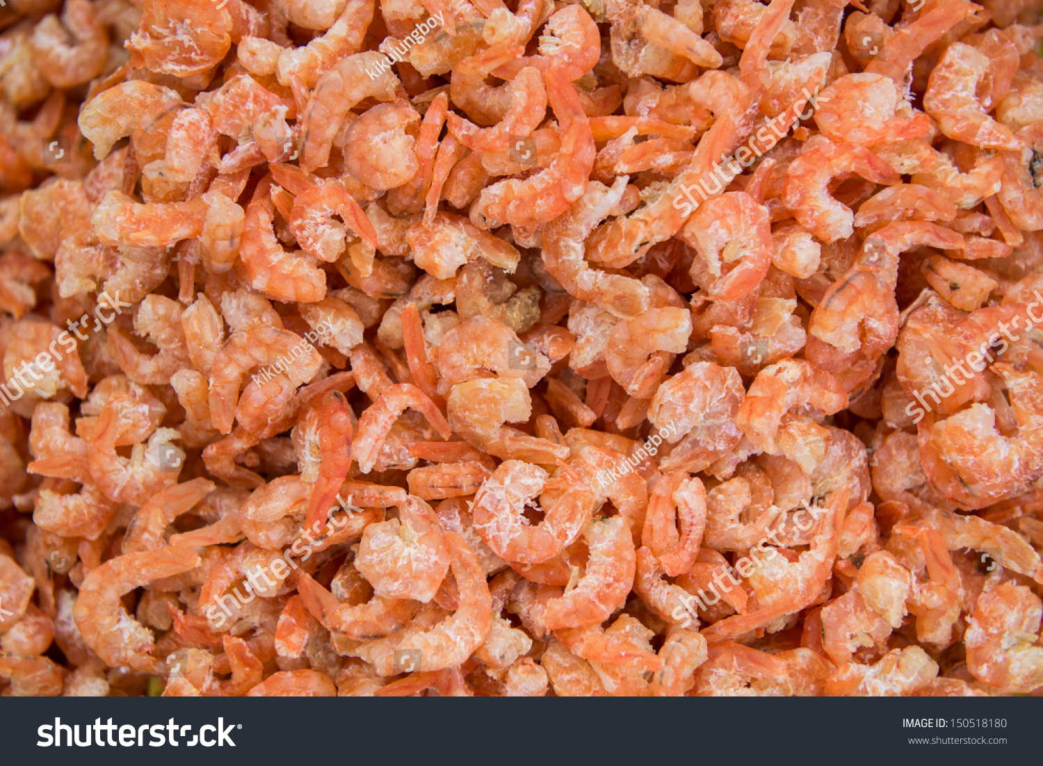 Small Dried Shrimp For Cooking At Market Stock Photo 150518180 : Shutterstock