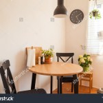 Small Kitchen Kitchen Table Two Chair Stock Photo Edit Now 1358309411