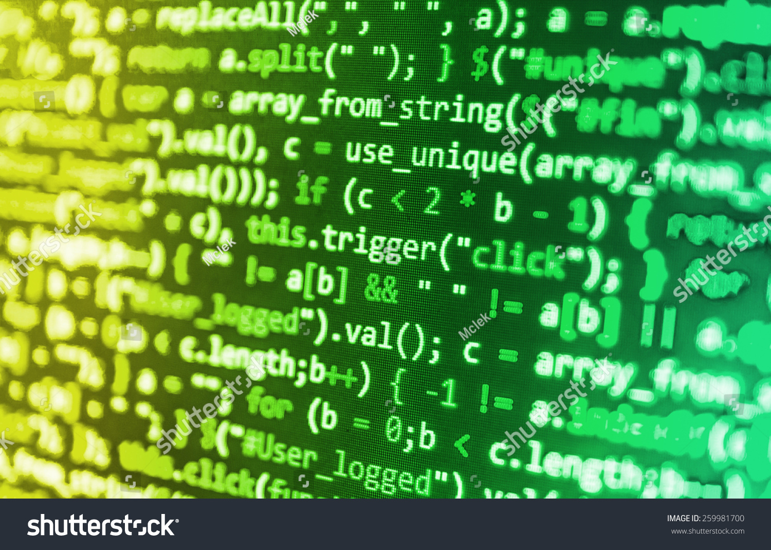 Software Developer Programming Code Abstract Computer
