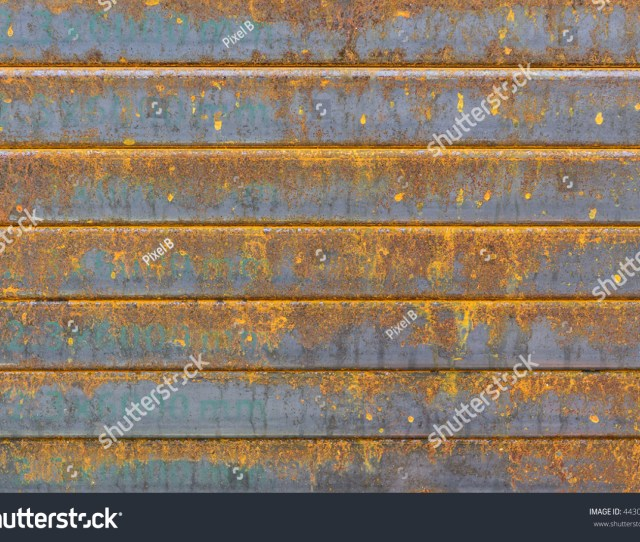 The Rectangle Steel Tube Stack With The Rusty In The Construction Site With The Corrosion Cause