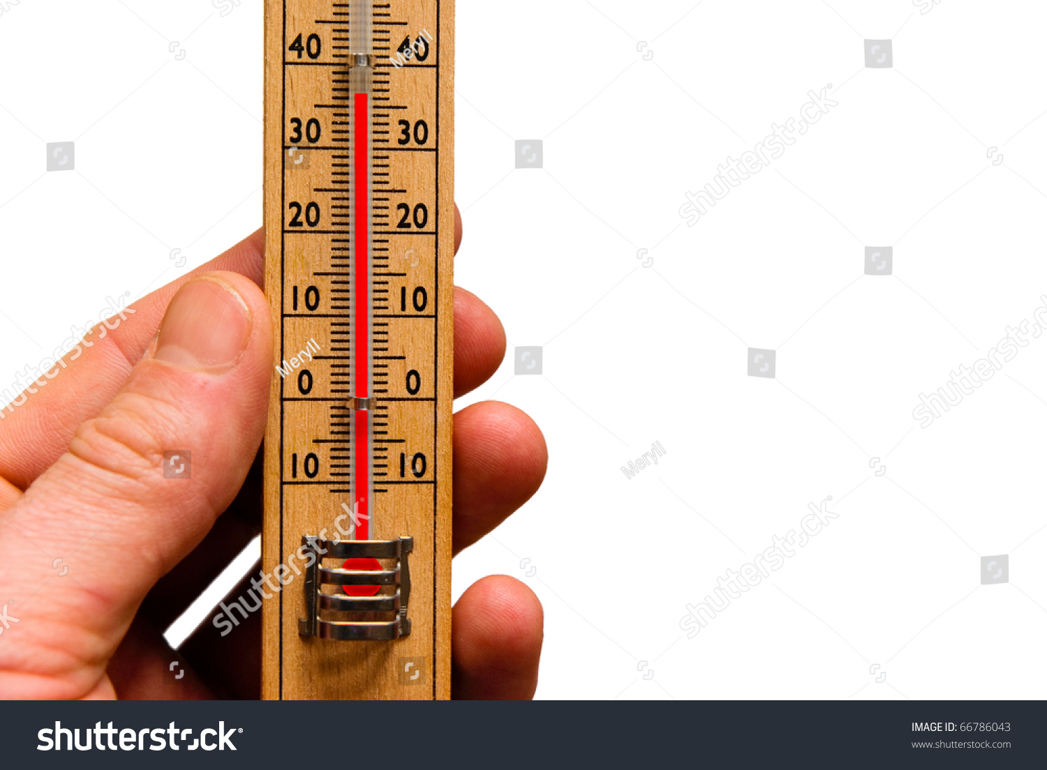 Thermometer Global Warming High Temperature Hot Stock