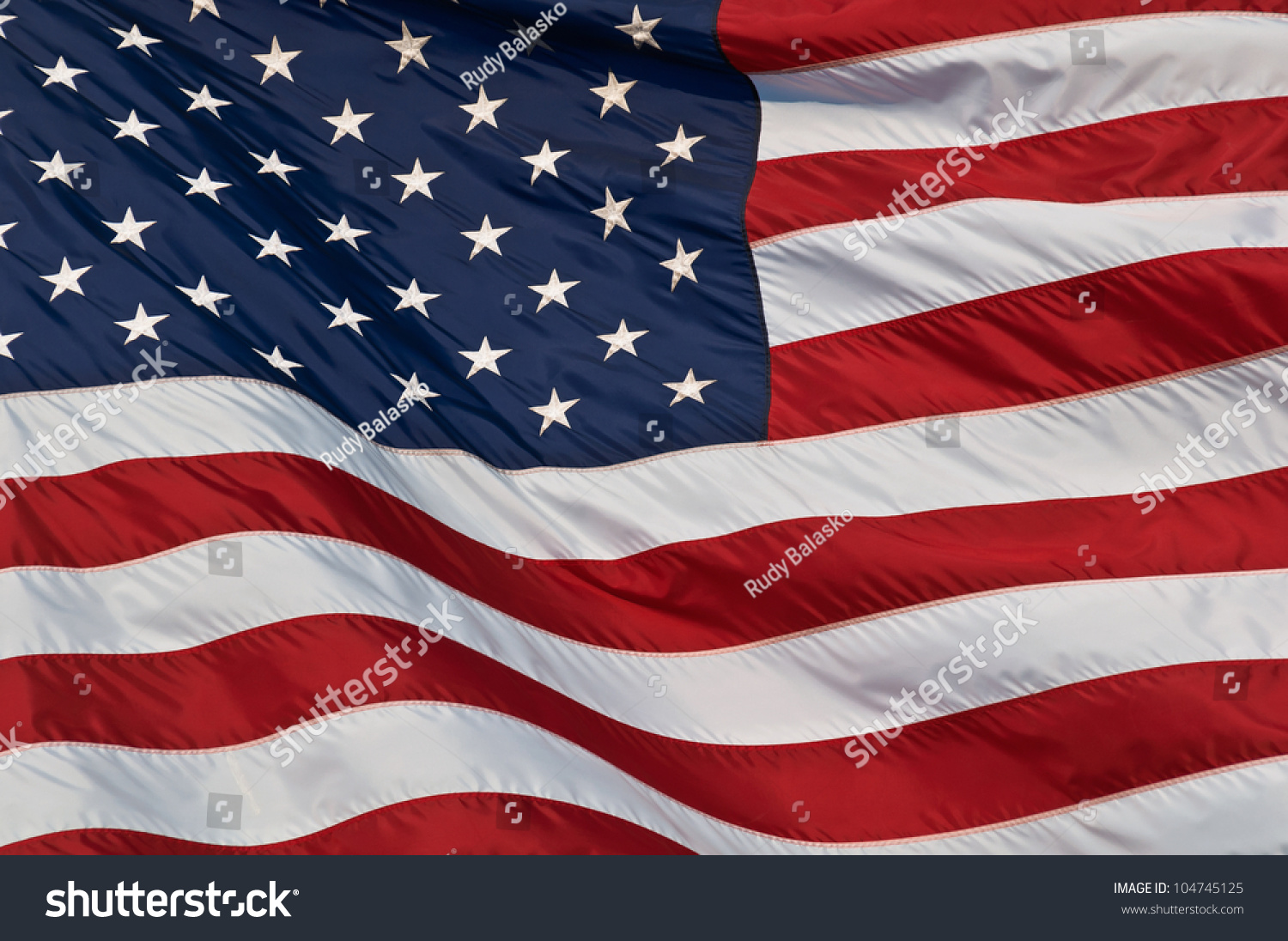 United States Of America Flag Image Of The American Flag