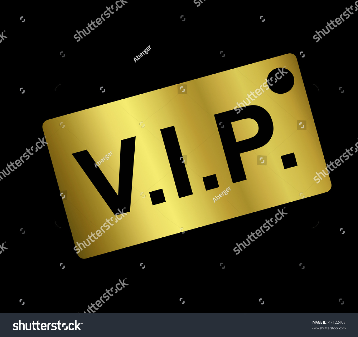 Very Important Person Stock Photo Shutterstock