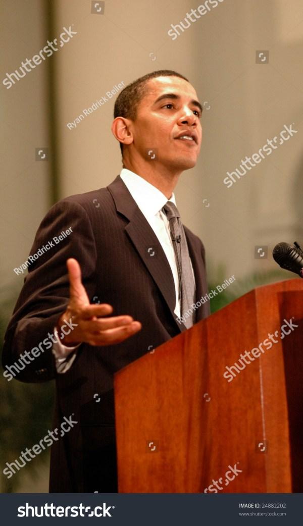 Washington, Dc - June 27, 2006: Barack Obama Speaks On ...
