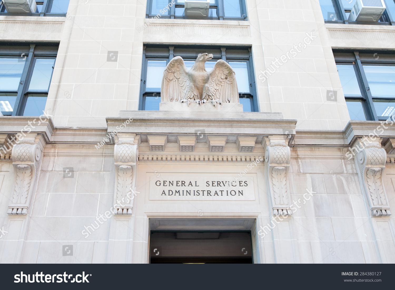 Washington Dc May 4 Entrance General Stock Photo
