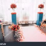 Wedding Decor Style Boho Flower Arrangements Stock Photo Edit Now 1287018706