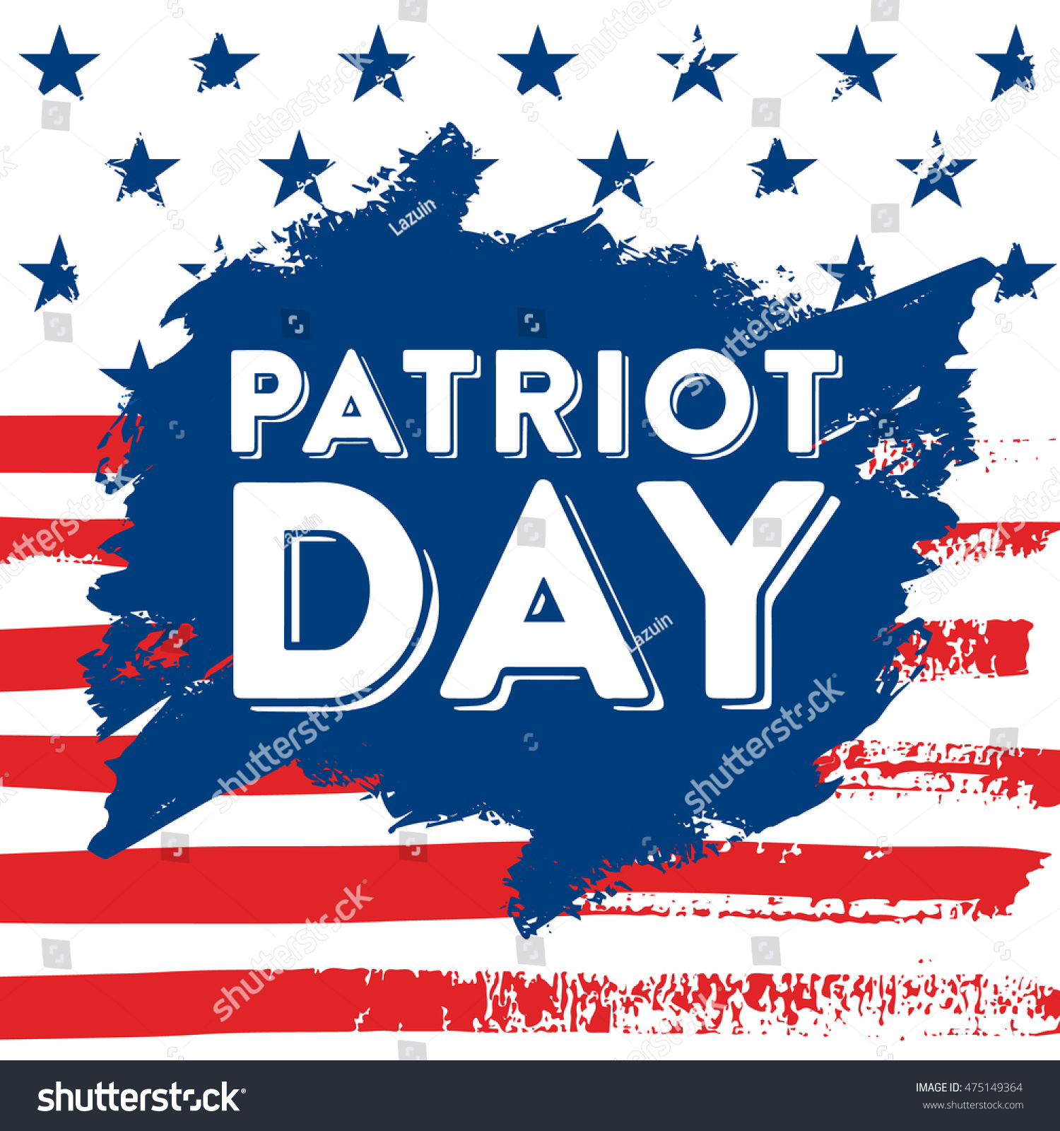911 Patriot Day Background Patriot Day Stock Vector
