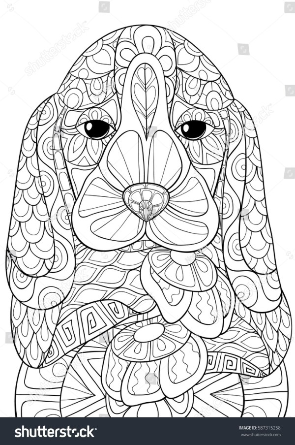 beagle coloring pages # 11