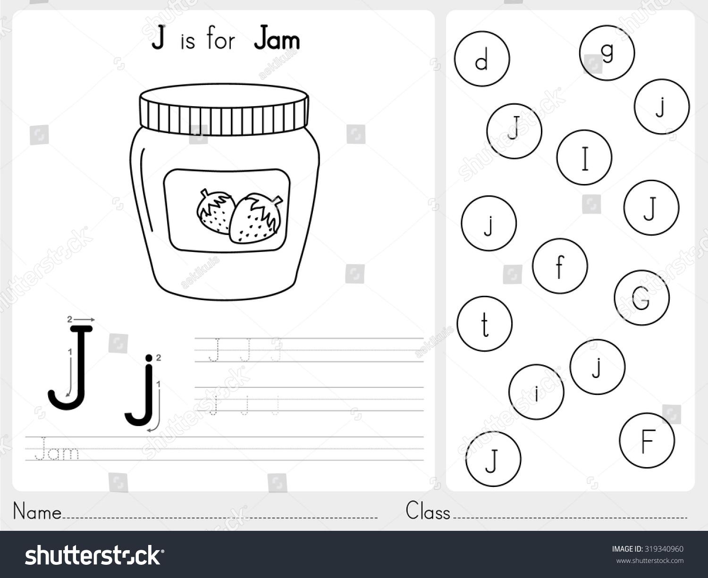 Cartoon Writing Alphabet Polarview