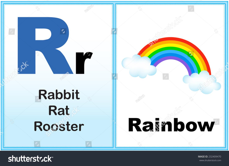 Alphabet Letter R Clipart Few Similar Stock Vector