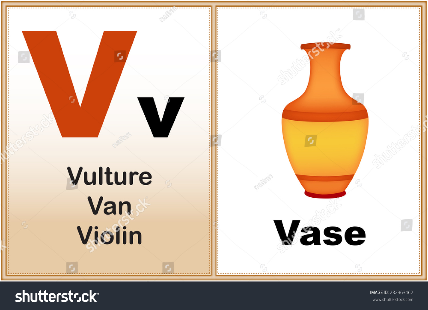 Alphabet Letter V Clipart Few Similar Stock Vector