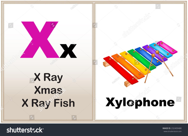 Alphabet Letter X Clipart Few Similar Stock Vector