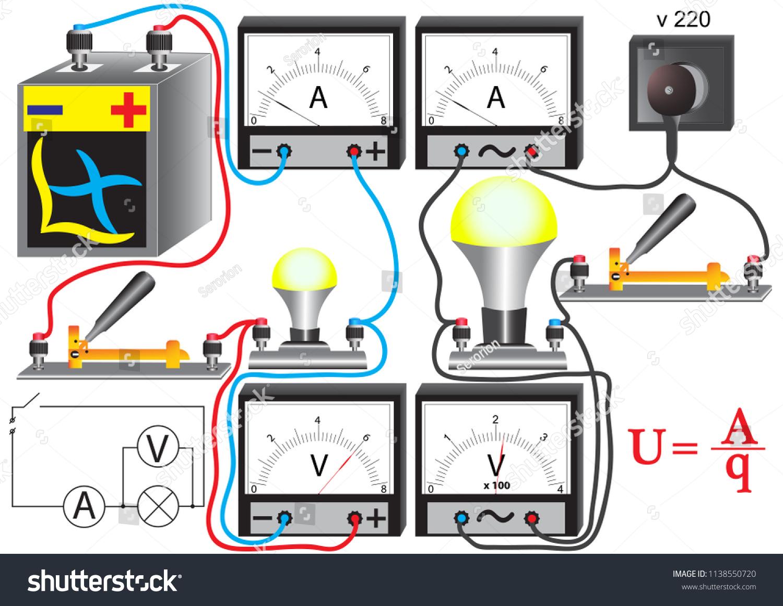 Light Bulb Electrical Circuit
