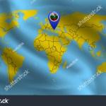 Bulgarian Location Mark On World Map Stock Vector Royalty Free 1429753400