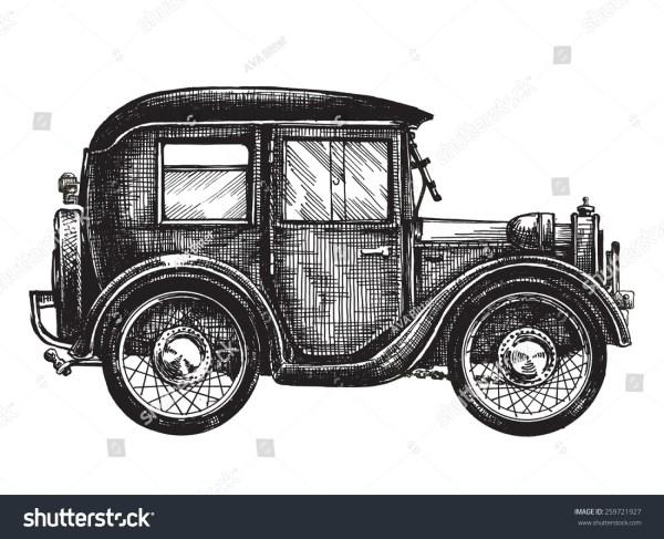 Стоковая векторная графика «Car Vintage Vector Logo Design ...