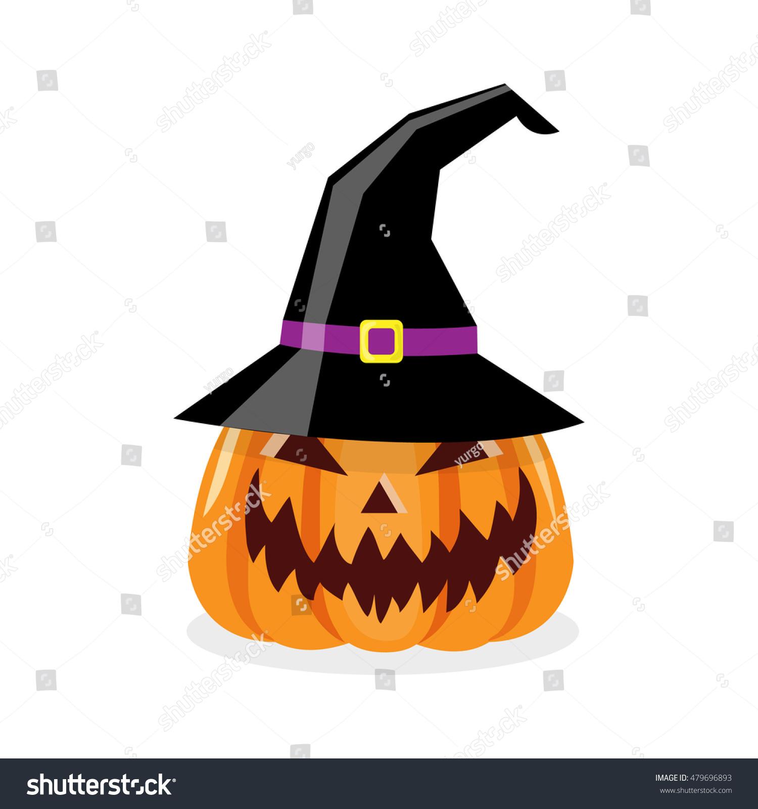 Halloween pumpkin head jack lantern made from plasticine. Cartoon Illustration Scary Halloween Pumpkin Witch Stock Vector Royalty Free 479696893
