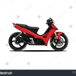 Cartoon Motorcycle Asian Sport Bike Street Stock Vector Royalty Free 1584108421