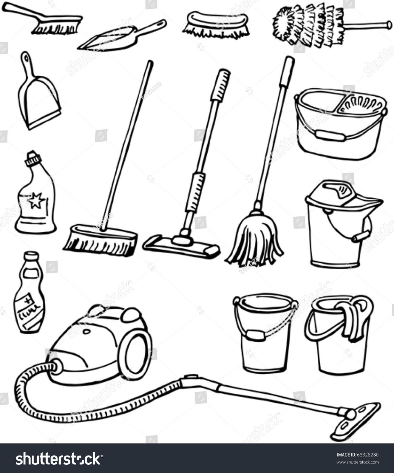 Cleaning Tools Worksheet