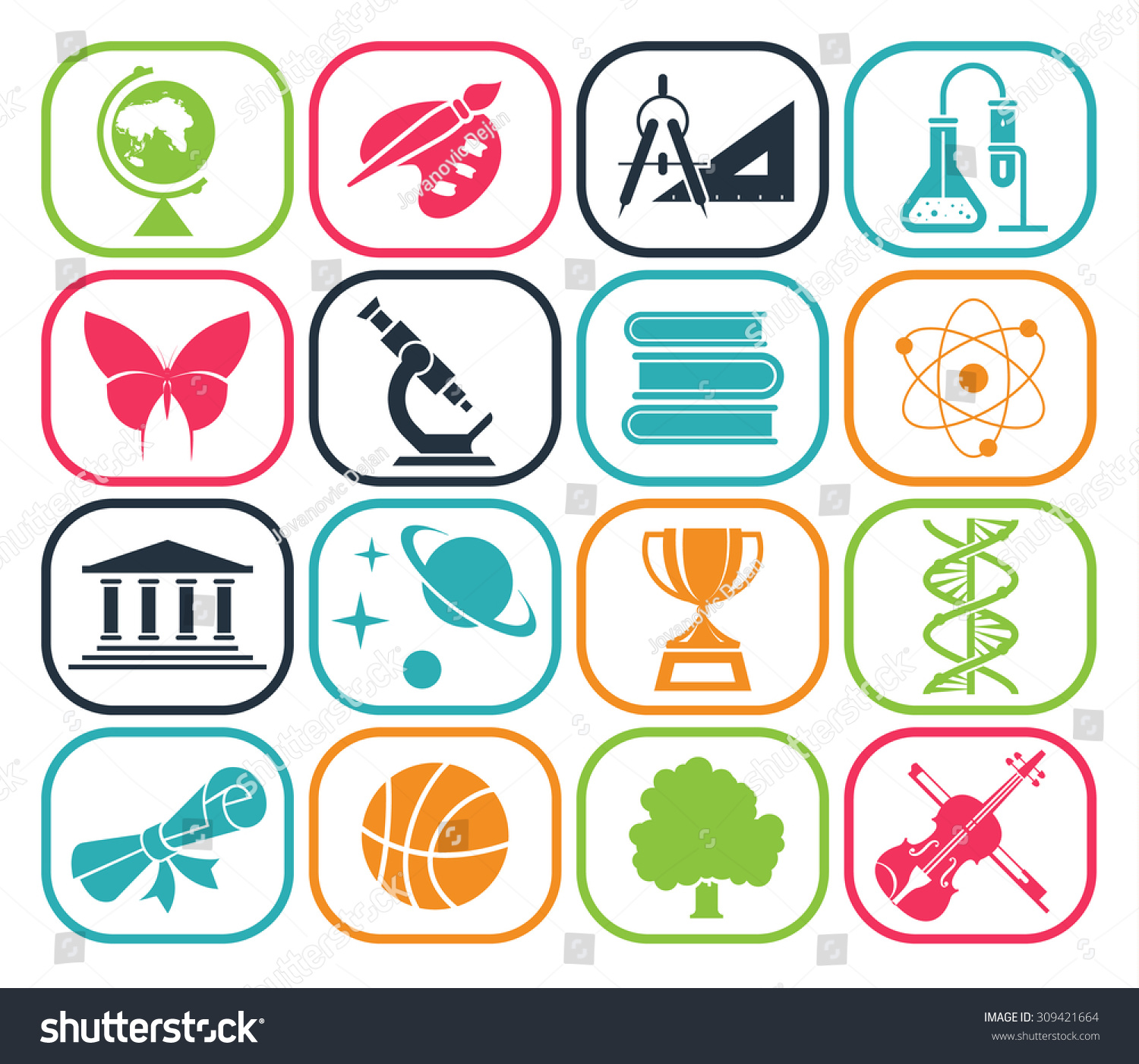 School Subjects Clip Art Clipart Free Download
