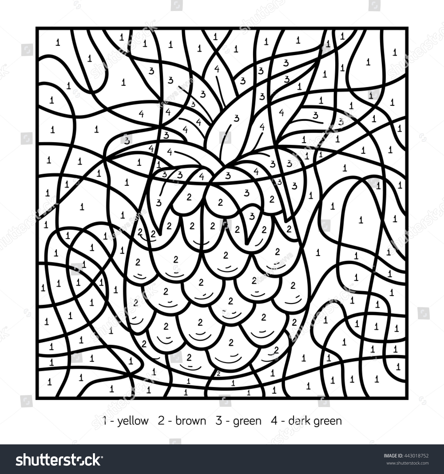 Quince Fruit Coloring Coloring Pages