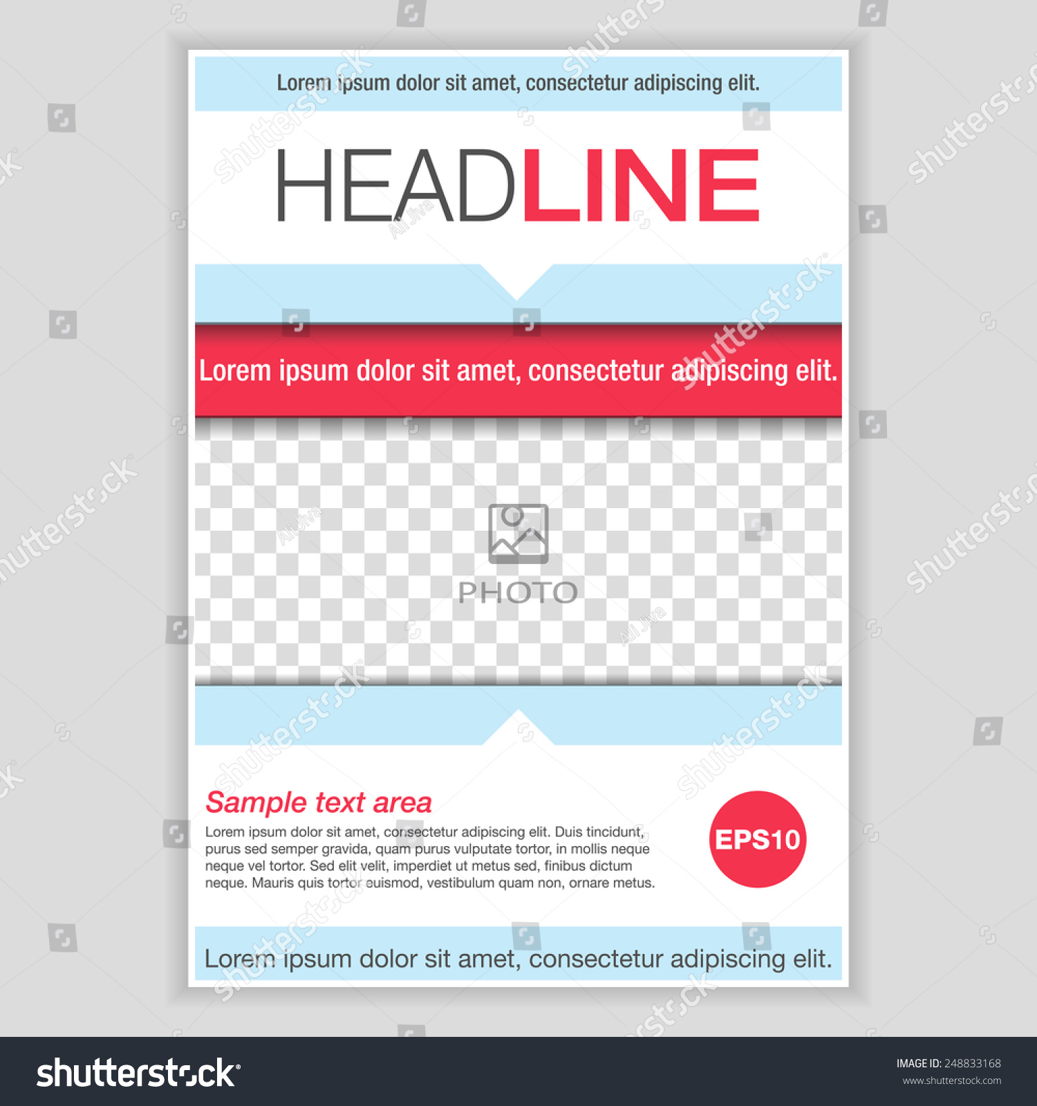 Newspaper Cover Page Template