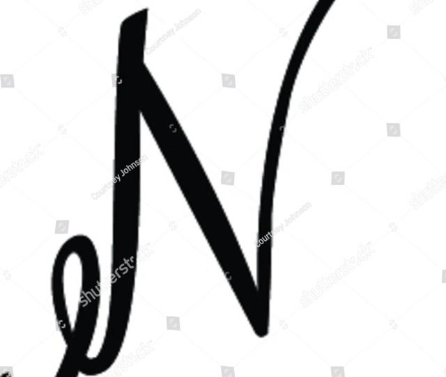 Cursive N