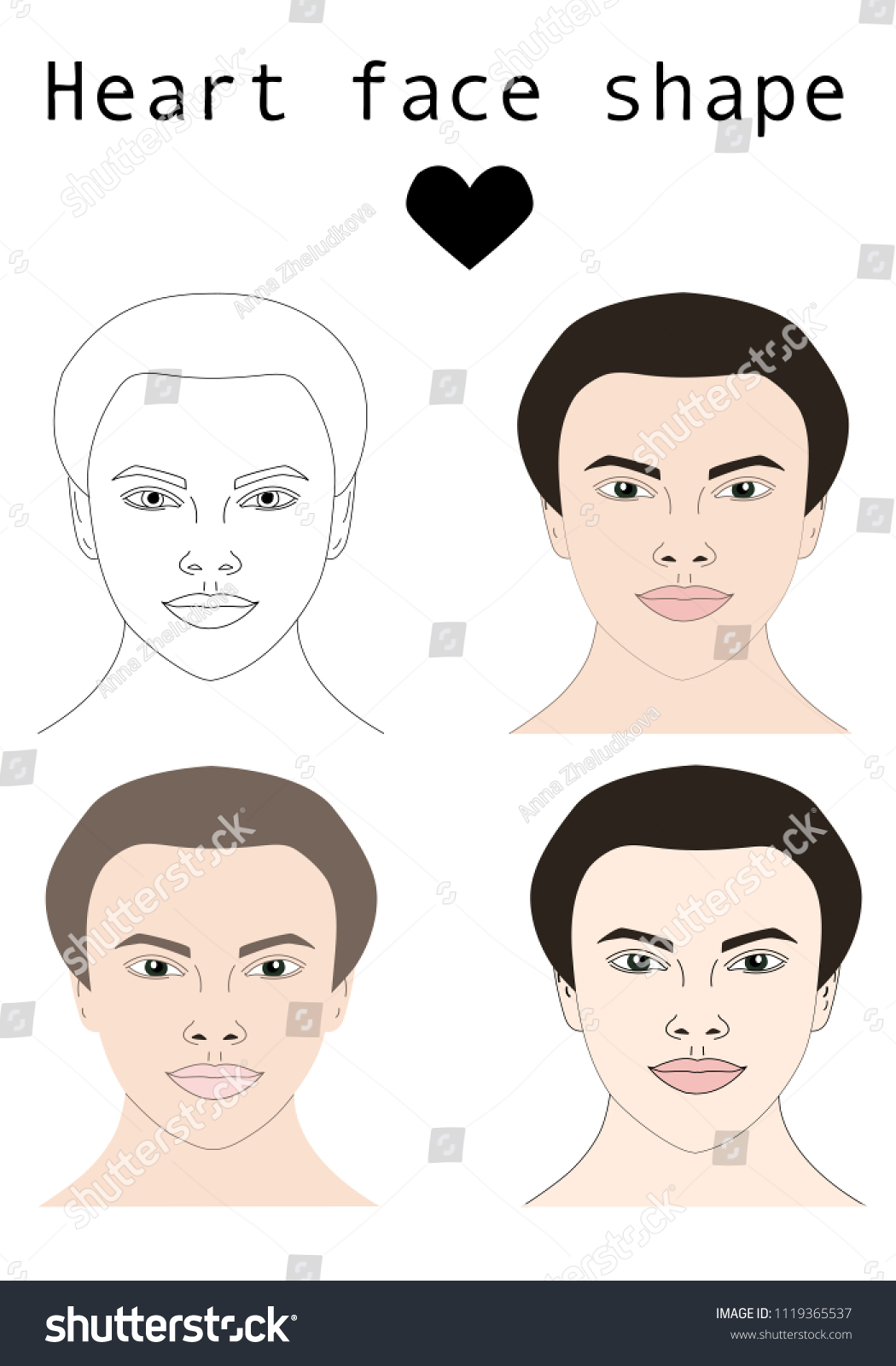 Hair And Makeup For Face Shapes