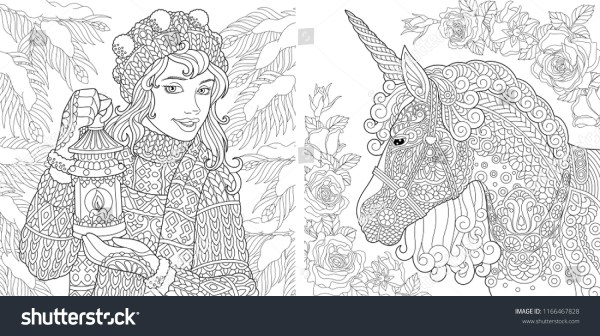 fantasy coloring pages for adults # 29