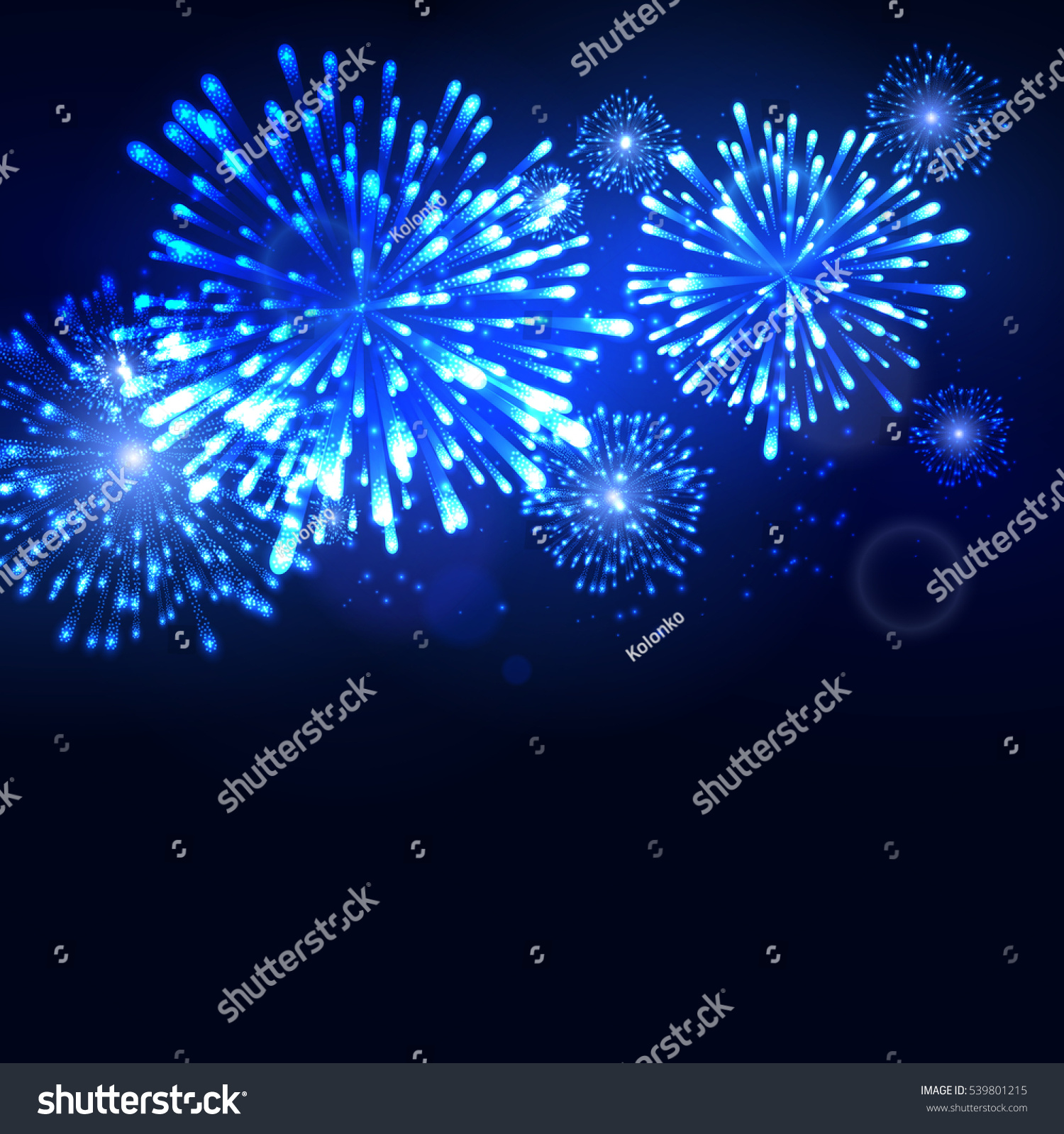 firework new year templates