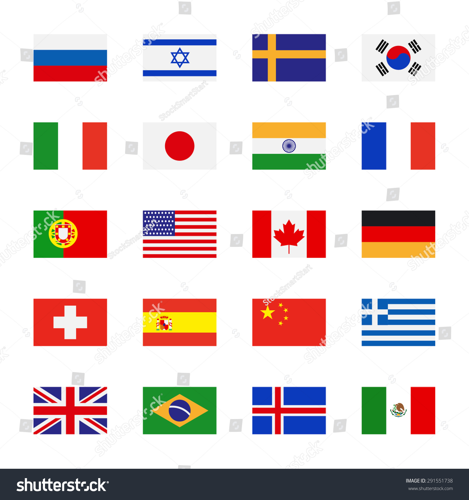 Latin American Flags Printable Polarview