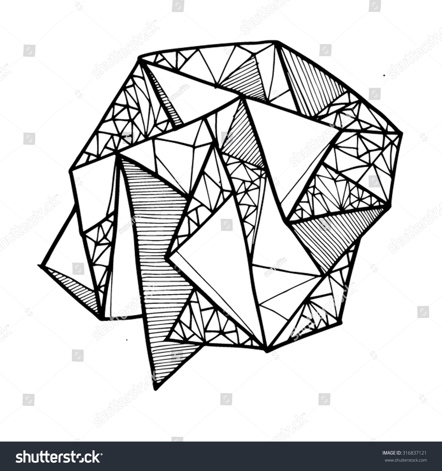 Geometric Shape Lines Lineart Shapes Line Art Arts Illustration Illustrations Design Designs