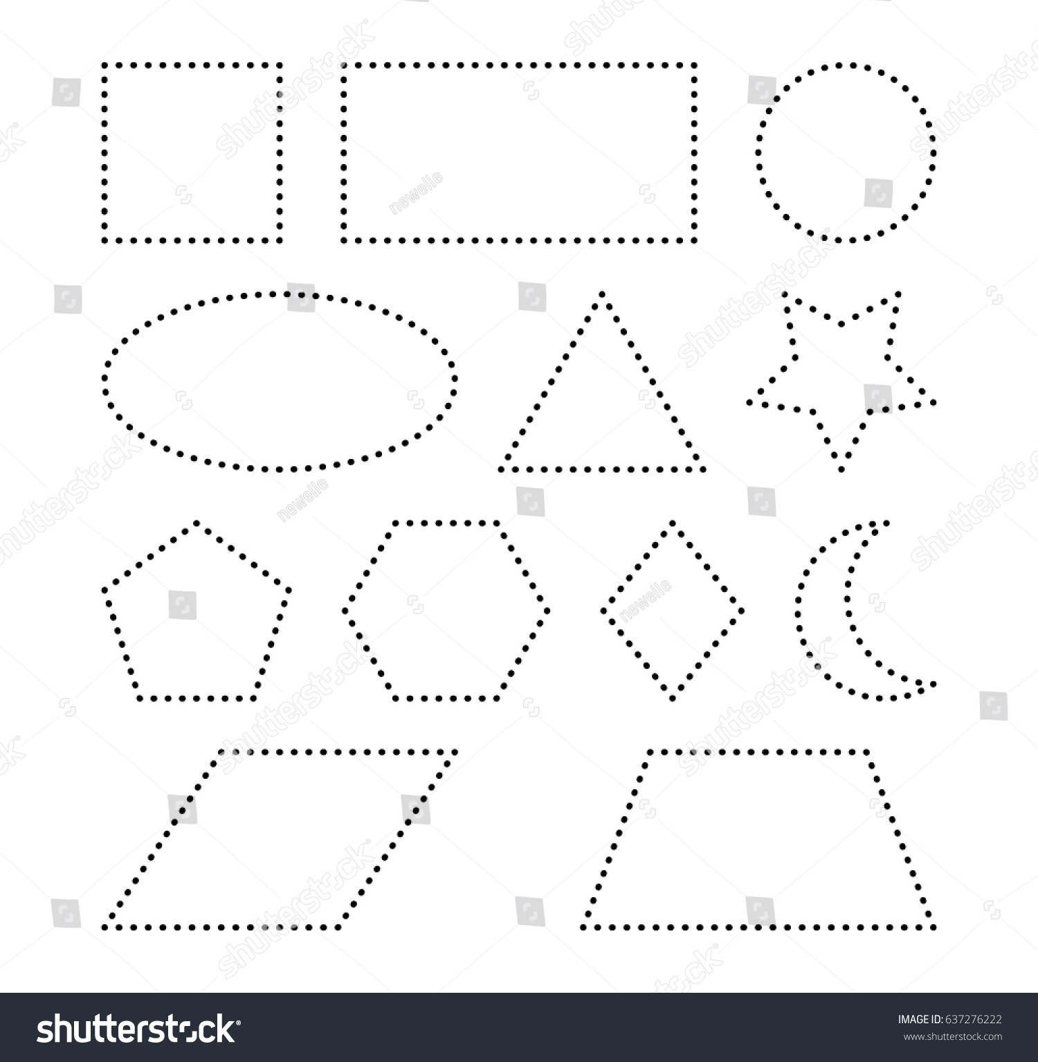 Worksheet Trace A Star