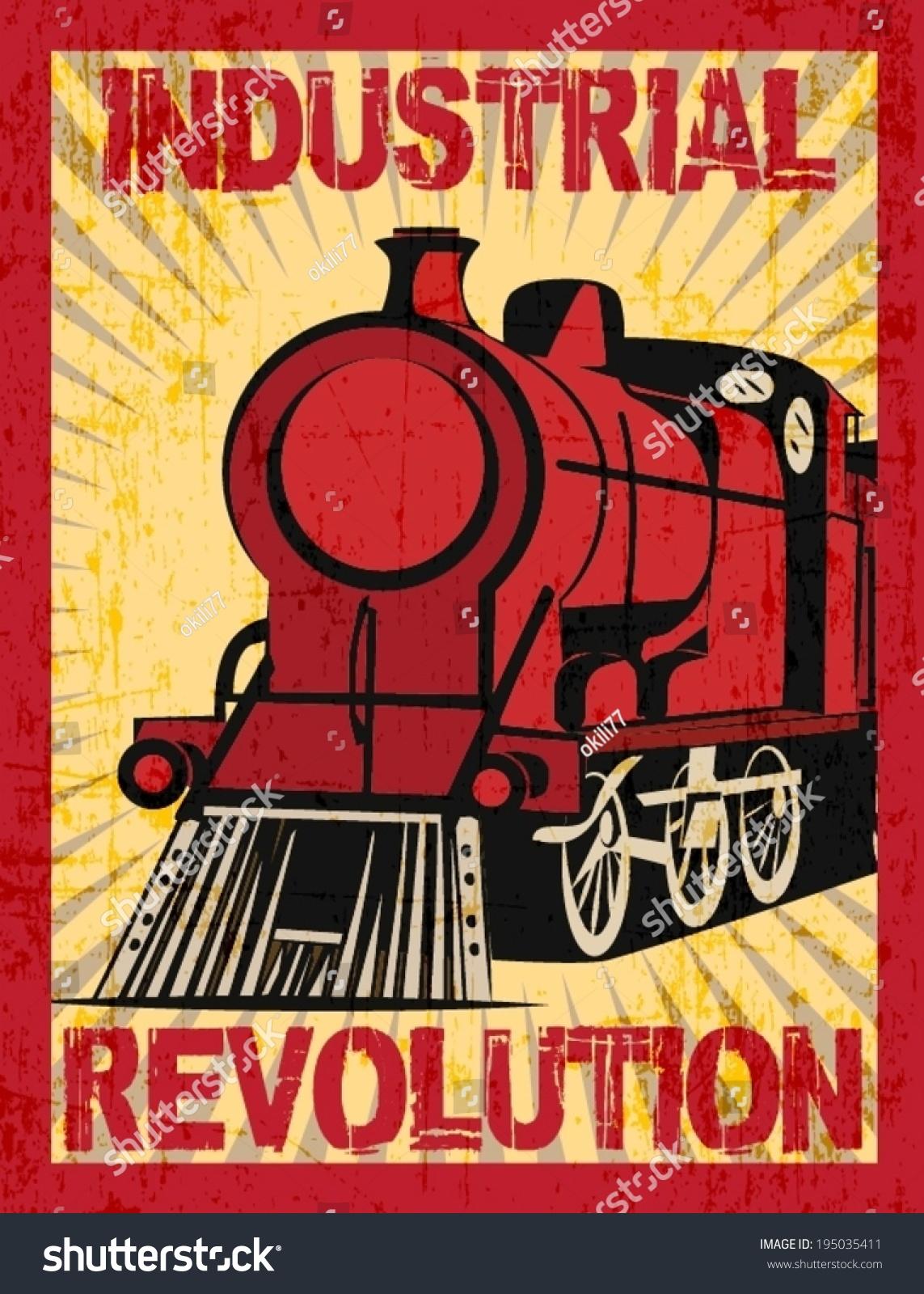 Industrial Revolution Stock Vector