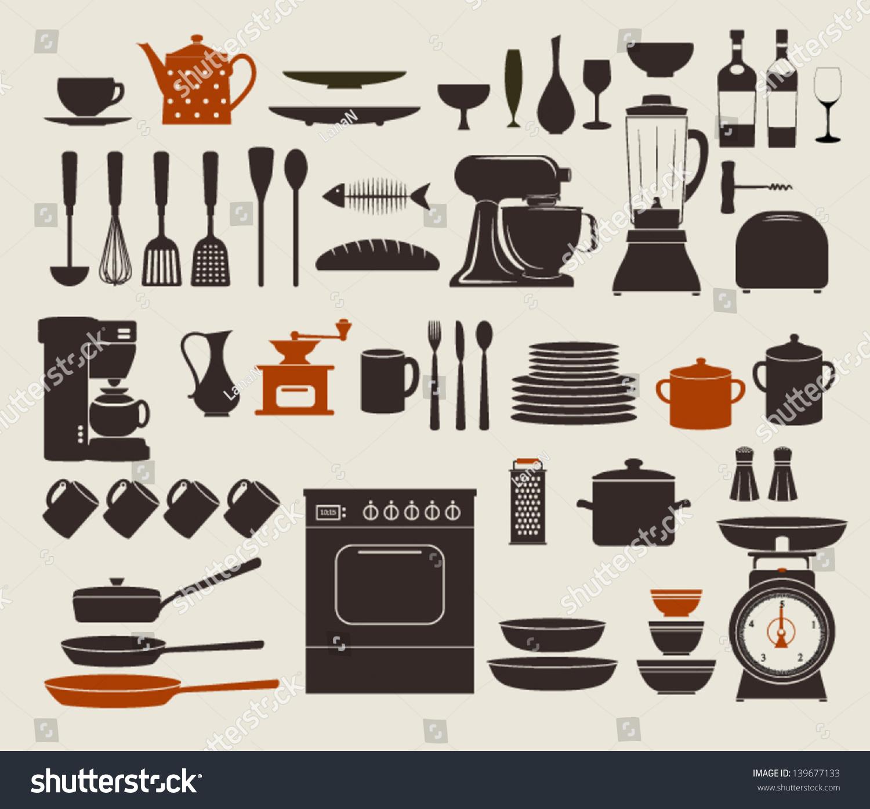 List Of Kitchen Utensils A To Z Kitchen Utensils Names In English Cooking Utensils Matching