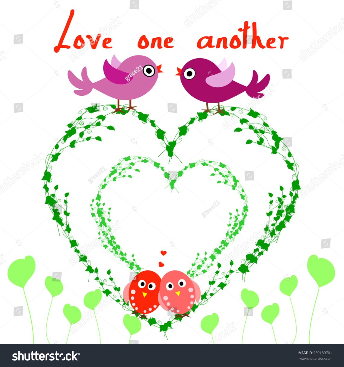 Download Love One Another. As I Have Loved You.Vector Illustration ...