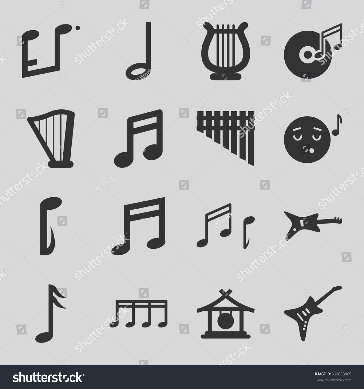 Airplane And Note Emoji