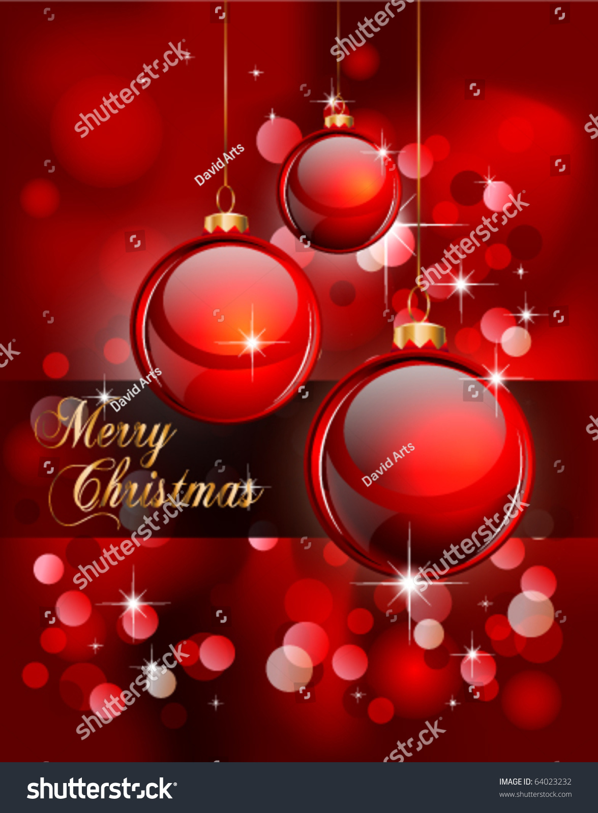 Merry Christmas Elegant Suggestive Background Greetings