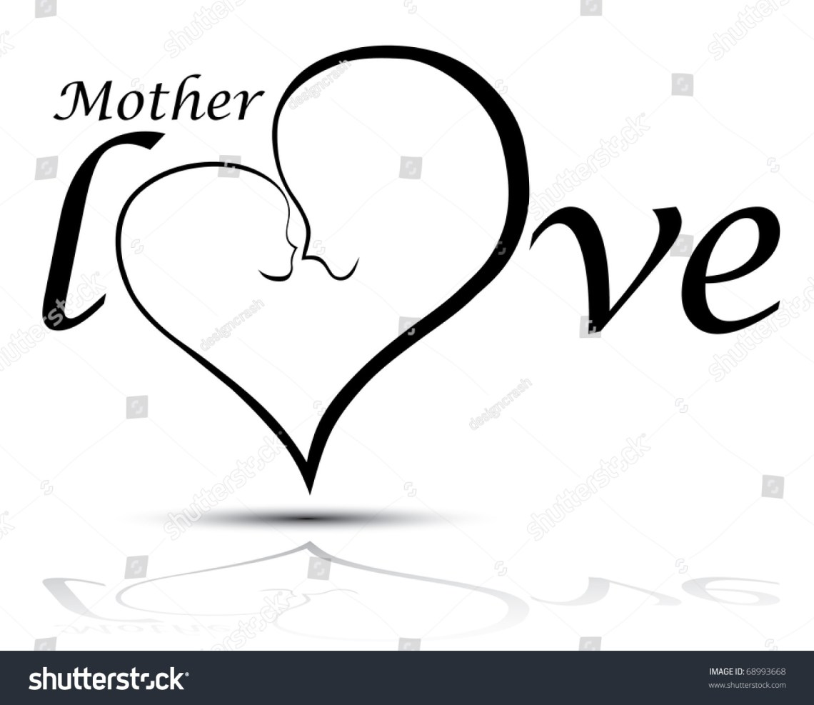 Download Mother Baby Love Vector Illustration Stock Vector 68993668 ...