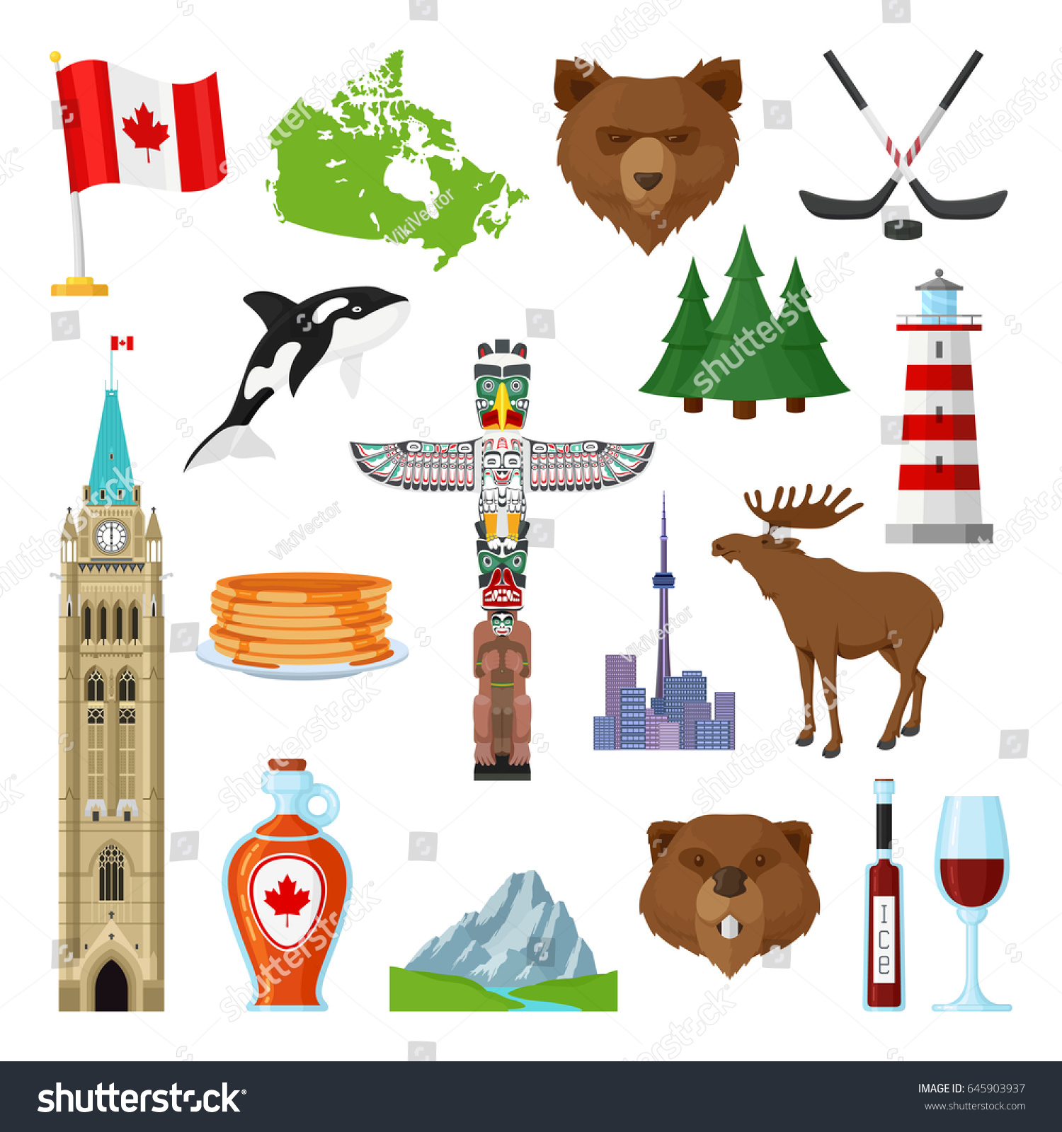 National Symbols Canada Official Representation Country