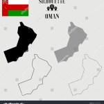Vector De Stock Libre De Regalias Sobre Oman Outline World Map Solid Dash1539559556